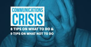 17 tips for managing crisis communications